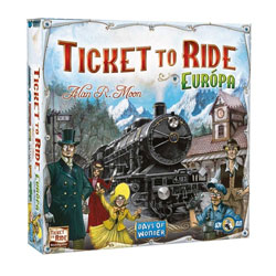 Ticket to Ride Europa (magyar)